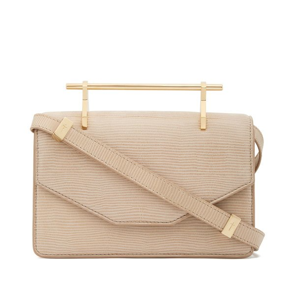 M2MALLETIER Indre Embossed Leather Bag