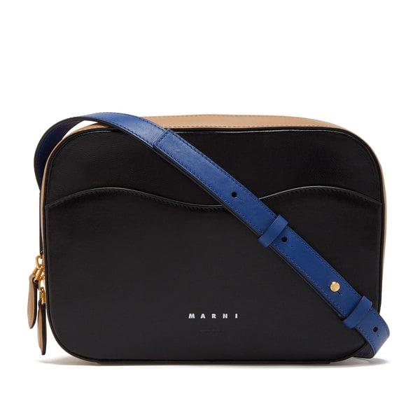 Marni Square Crossbody Leather Bag