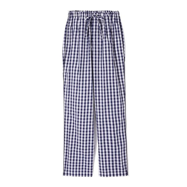 Sleepy Jones Marina Gingham Cotton Pajama Pants