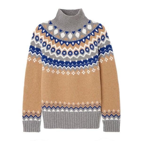G. Label Ana Fair Isle Sweater