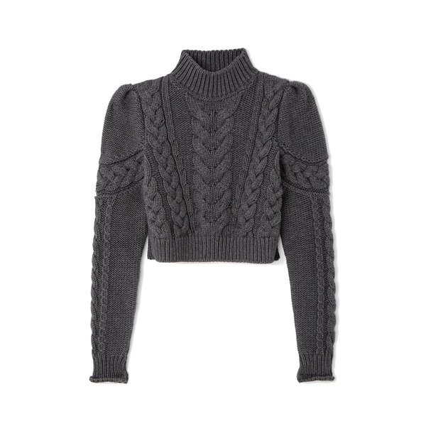 G. Label Cohen Chunky Cable Sweater