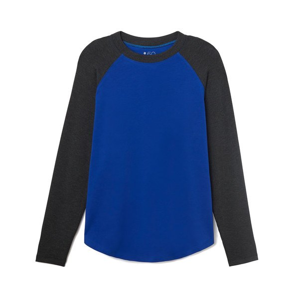 Splits59 Warm-Up Colorblock Fleece Pullover