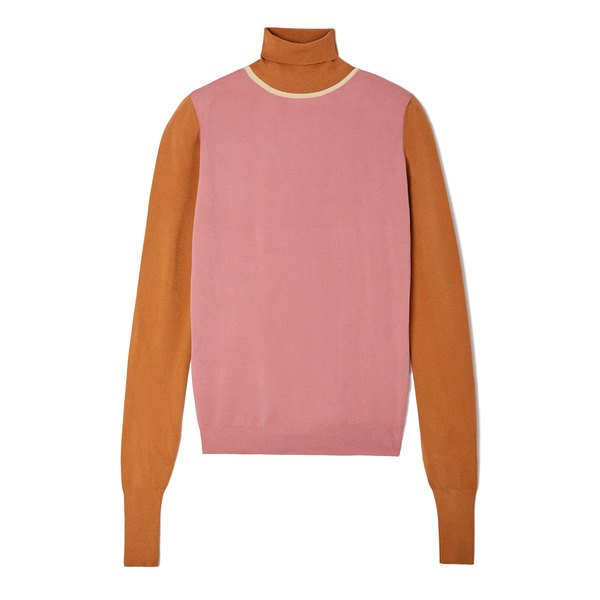 Roksanda Elsta Knit Colorblock Top