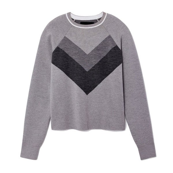 LNDR Flare Cropped Wool Pullover