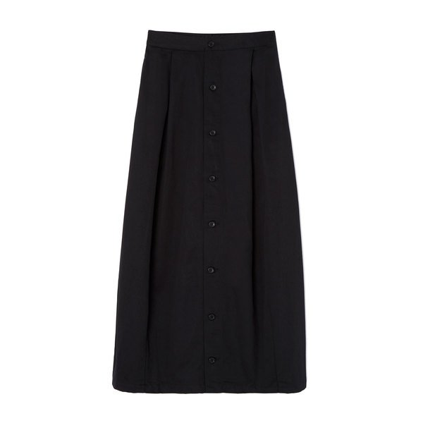 Nepenthes Tuck Chino Skirt