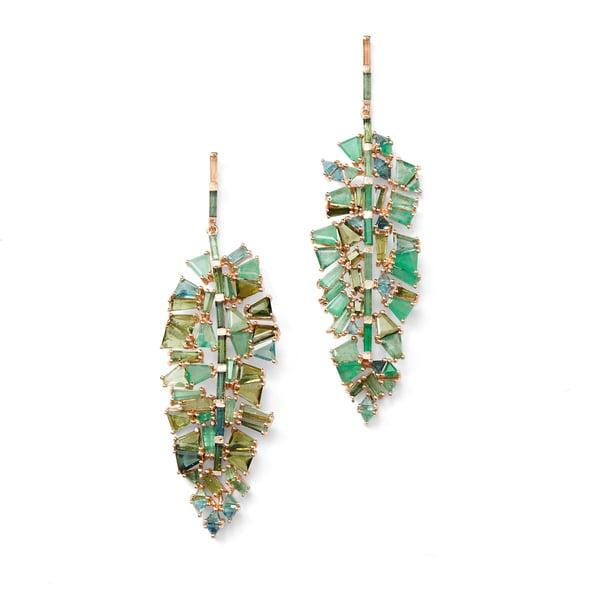 Nak Armstrong Bahia Leaf Earrings