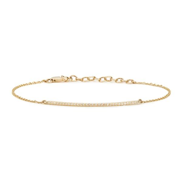 Anne Sisteron  Diamond Bar Bella Bracelet