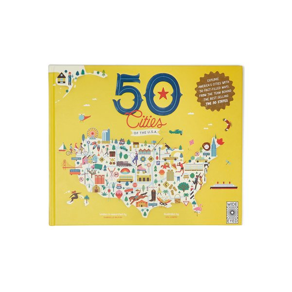 Quarto Knows  50 Cities of the U.S.A. Book