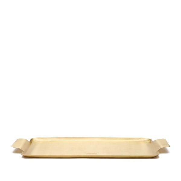 Puebco Brass Rectangular Tray