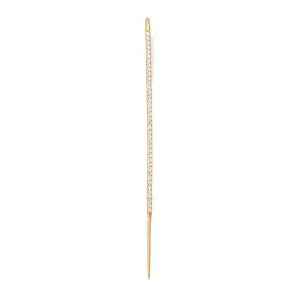 KATKIM Diamond Thread Ear Pin
