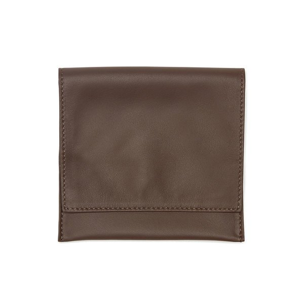 Lorenzi Milano  Leather Tobacco Case