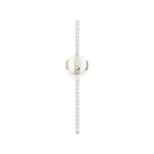 KATKIM The Petite Ear Diamond White Gold Pin