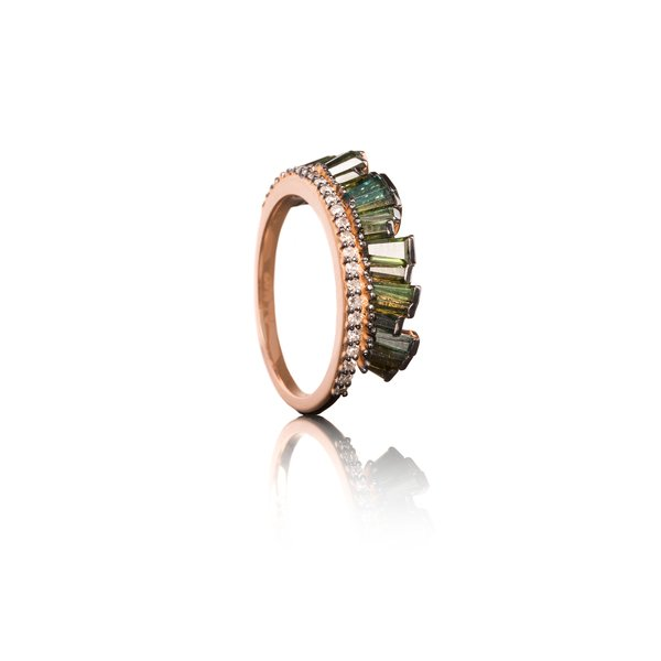Nak Armstrong Pleated Crown Ring