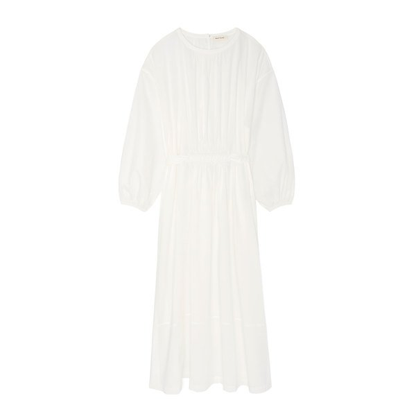 Matteau The Long Sleeve Cotton Split Dress