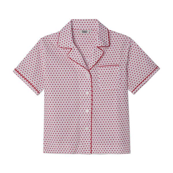 Sleepy Jones Corita Short-Sleeve Pajama Shirt