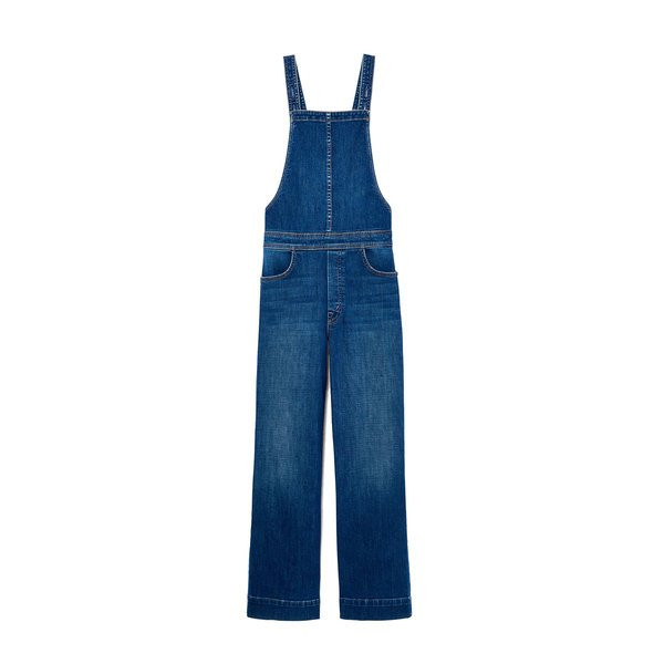 MOTHER The Greaser Overall Crop Jeans