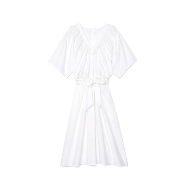 Merlette Lante Gathered V-Neck Dress