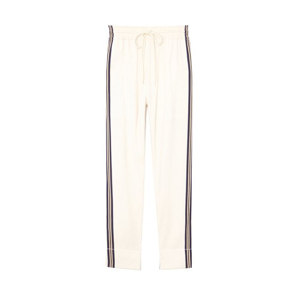 Bassike Stripe Relaxed Pull-On Pants