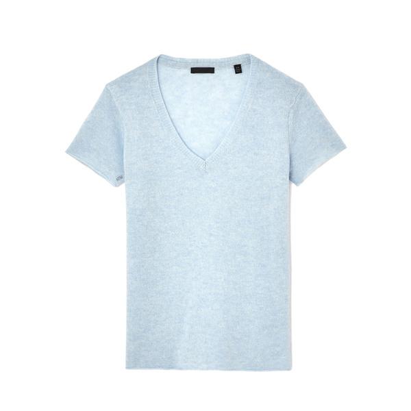 ATM Anthony Thomas Melillo V-Neck Sweater Tee