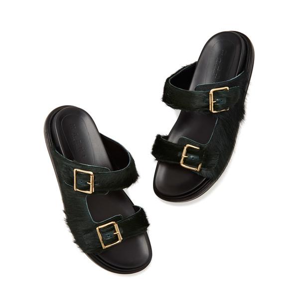 Marni Fussbett Slip-On Sandals