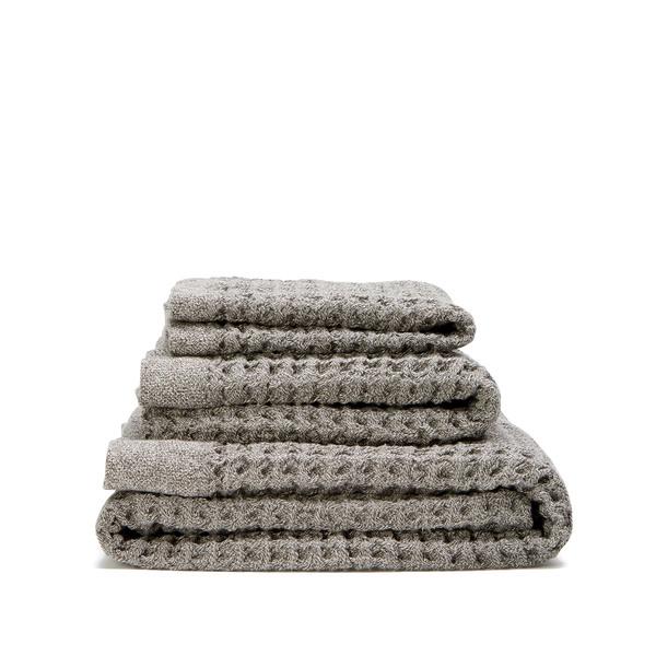 nutrl Home  Antimicrobial Waffle Towel Set