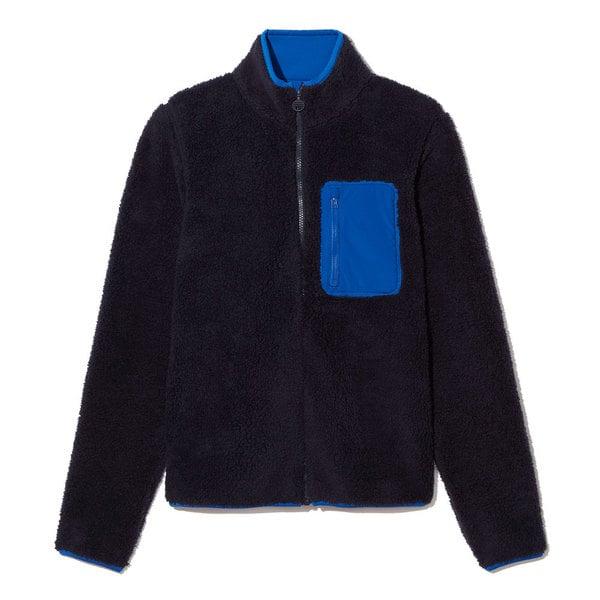 Tory Sport Sherpa Fleece Zip Jacket