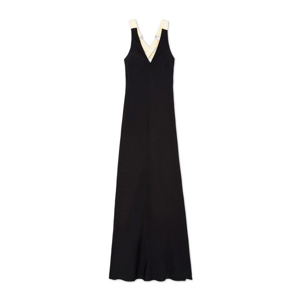 Lee Mathews Didion Contrast Bias Dress