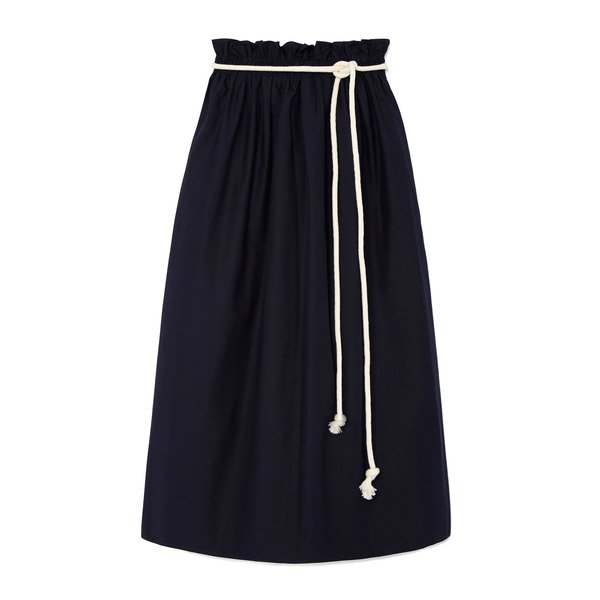 Atlantique Ascoli Jupe Grand Large Skirt with Rope Belt
