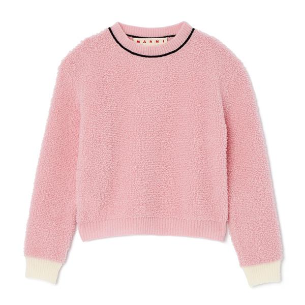 Marni Long-Sleeve Crew Neck Sweater