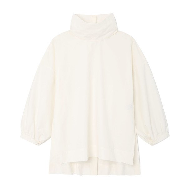 G. Label Shelly Pleated-Back Top