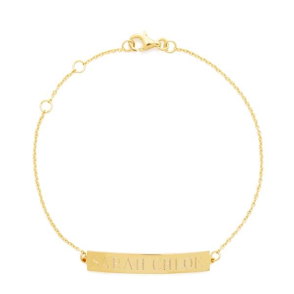 Sarah Chloe Leigh ID Name Bracelet