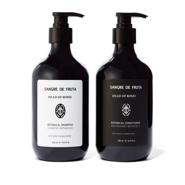 Sangre de Fruta Head of Roses Botanical Shampoo and Conditioner