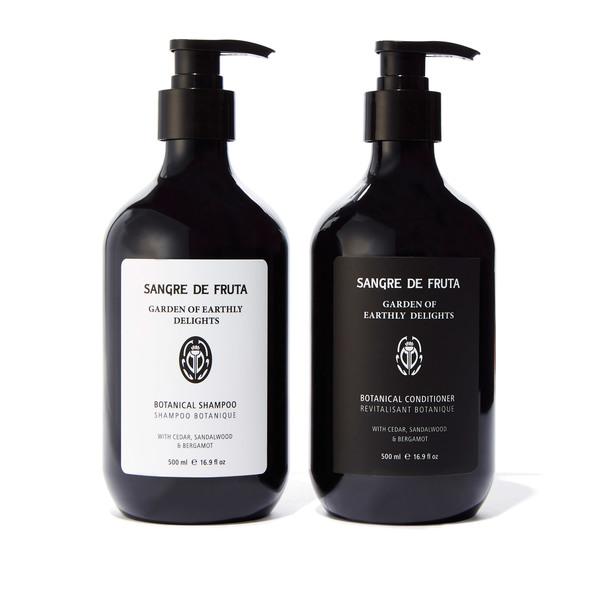 Sangre de Fruta Garden of Earthly Delights Botanical Shampoo and Conditioner
