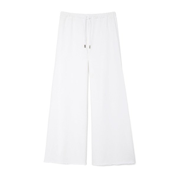 Sundry Flare Cropped Cotton Sweatpants