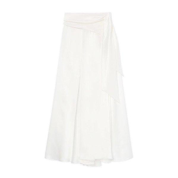 Datura Alma Silk Satin Skirt