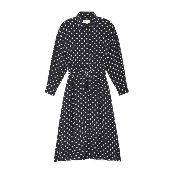 Datura Long Shirt Button-Down Dress