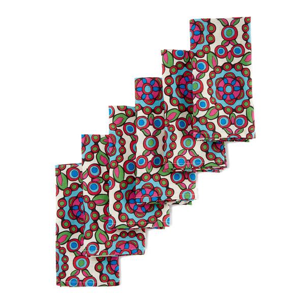 La DoubleJ Kaleidoscope Napkins, Set of 6