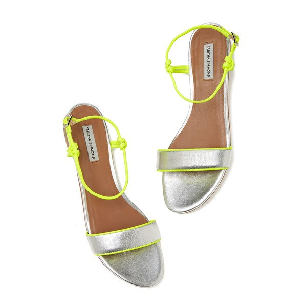Tabitha Simmons Bungee Flat Sandals
