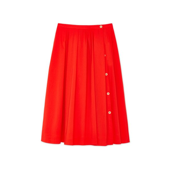 Alex Mill Cotton Midi Skirt