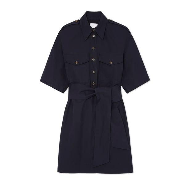 G. Label Roxanne Utility Boxy Shirtdress