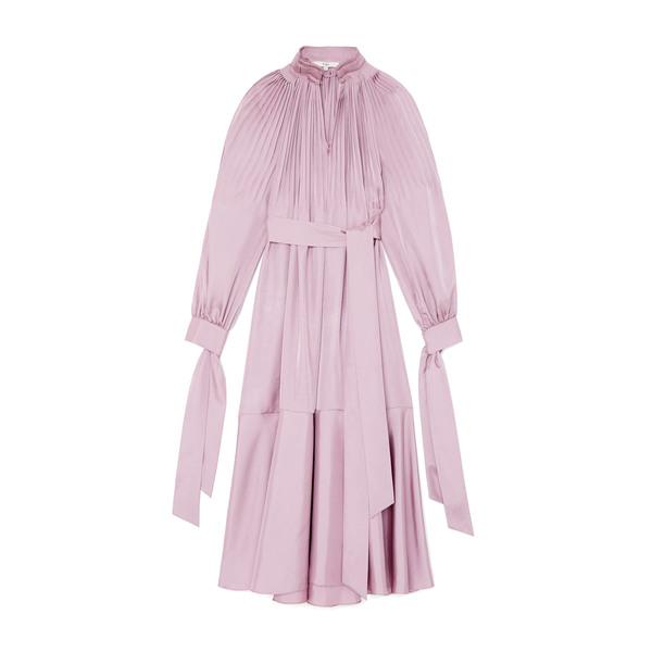 Tibi Mendini Twill Edwardian Dress