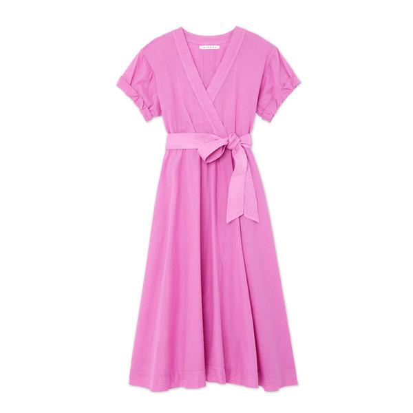 Xirena Winslow Cotton Wrap Dress