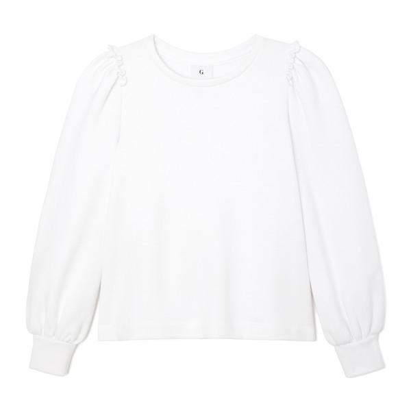 G. Sport Puff-Sleeve Sweatshirt