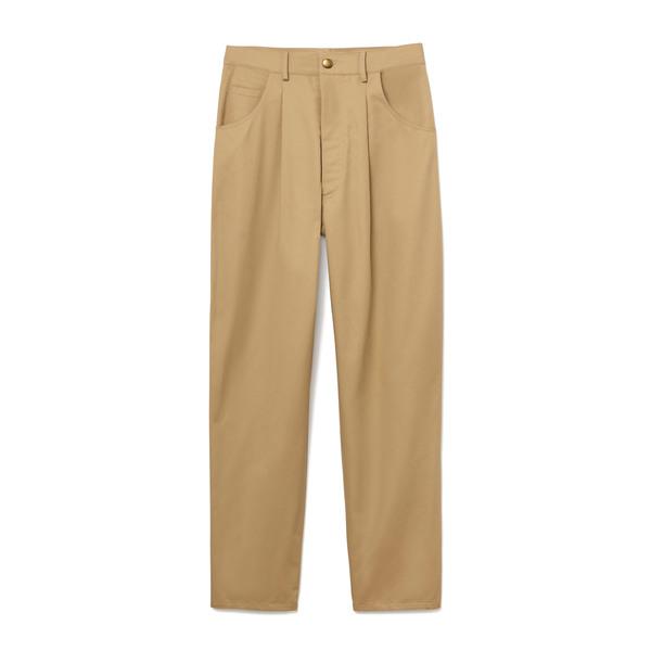 Harvey Faircloth High-Waist Pleated Pants