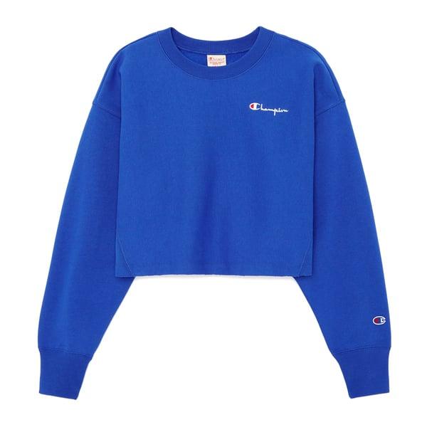 Champion Cropped Crewneck Sweatshirt