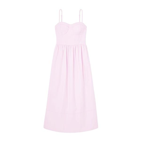 G. Label Martindale Seamed Bustier Dress
