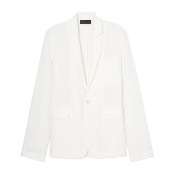 Nili Lotan Sophia Linen Blazer Jacket
