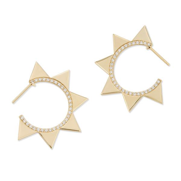 Bondeye Jewelry Venus 14K Yellow-Gold Earrings