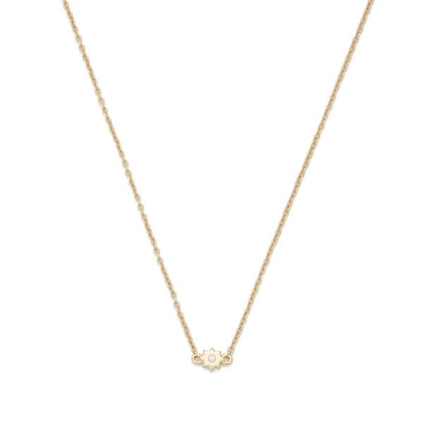 Bondeye Jewelry Burst 14K Yellow-Gold Necklace