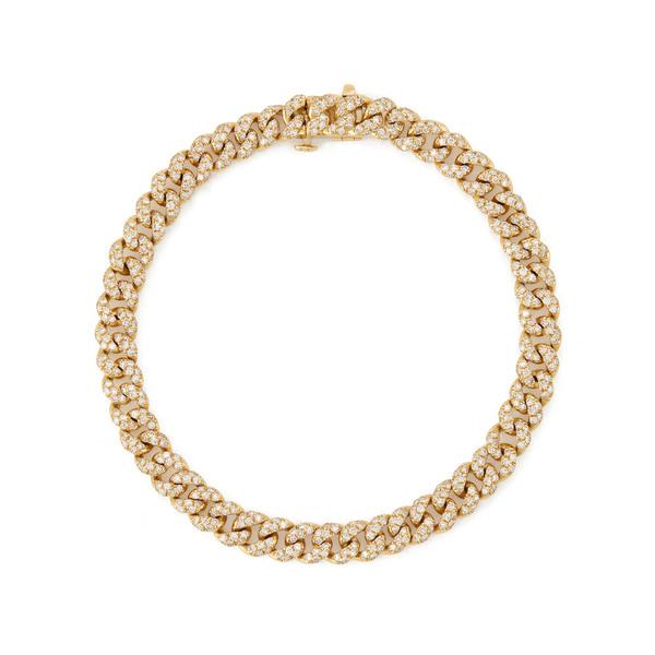 Shay Jewelry Mini Pave Link Bracelet